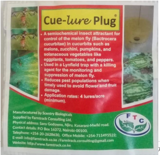 Cue-Lure plug